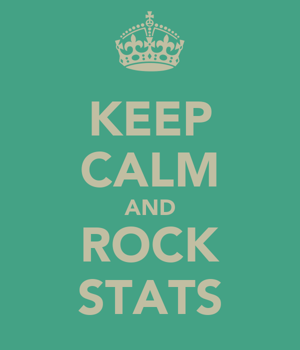 KEEP CALM AND ROCK STATS