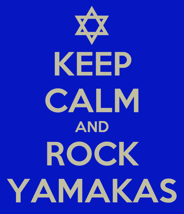 KEEP CALM AND ROCK YAMAKAS