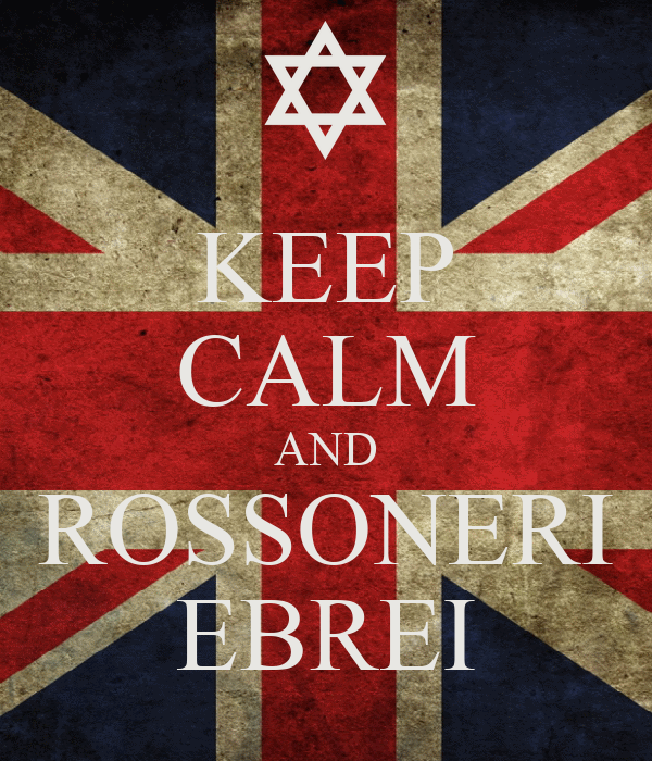 KEEP CALM AND ROSSONERI EBREI