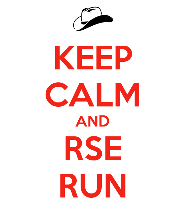 KEEP CALM AND RSE RUN