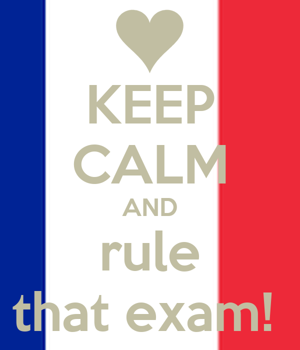 KEEP CALM AND rule that exam!