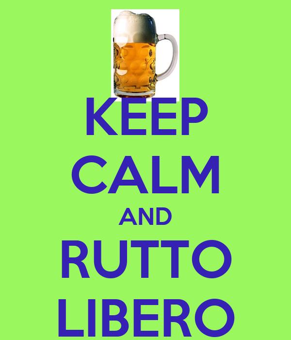 KEEP CALM AND RUTTO LIBERO