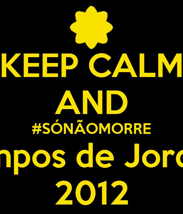 KEEP CALM AND #SÓNÃOMORRE Campos de Jordão  2012