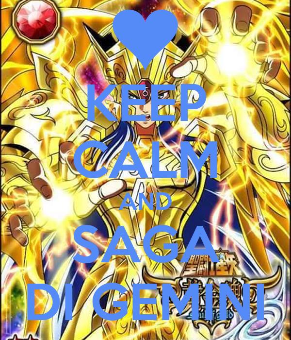 KEEP CALM AND SAGA DI GEMINI