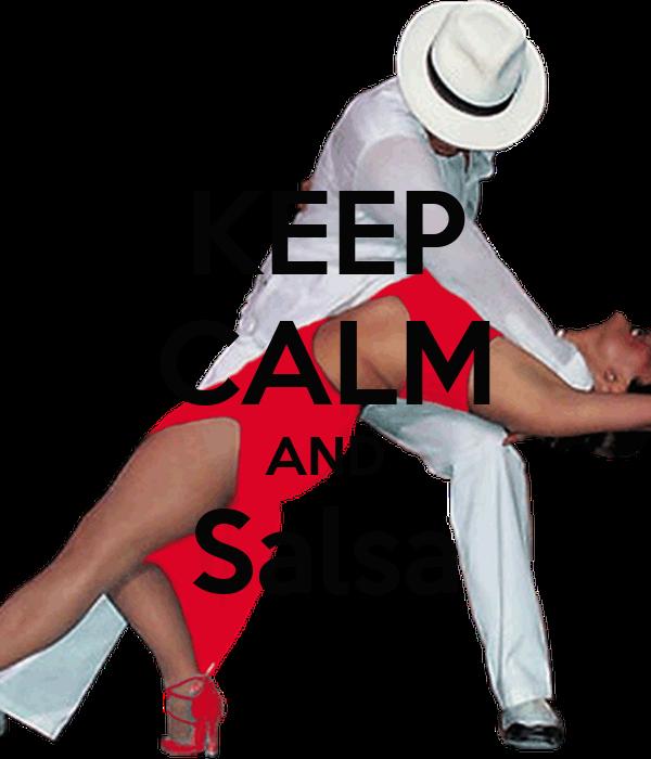 KEEP CALM AND Salsa