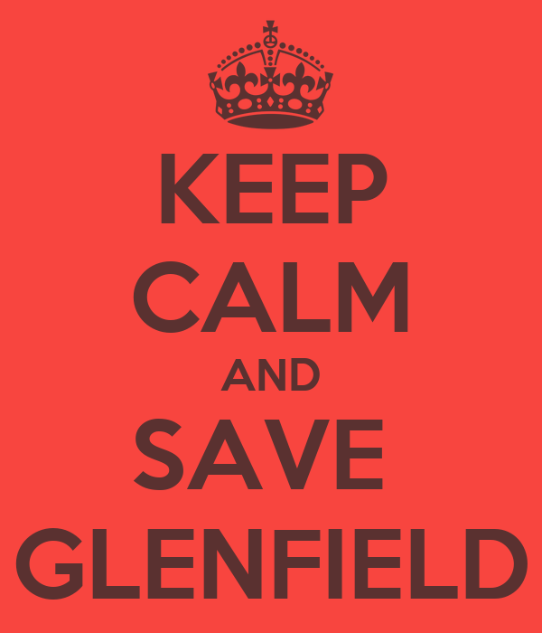 KEEP CALM AND SAVE  GLENFIELD