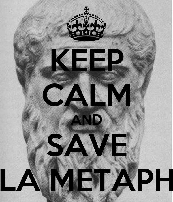 KEEP CALM AND SAVE LA METAPH