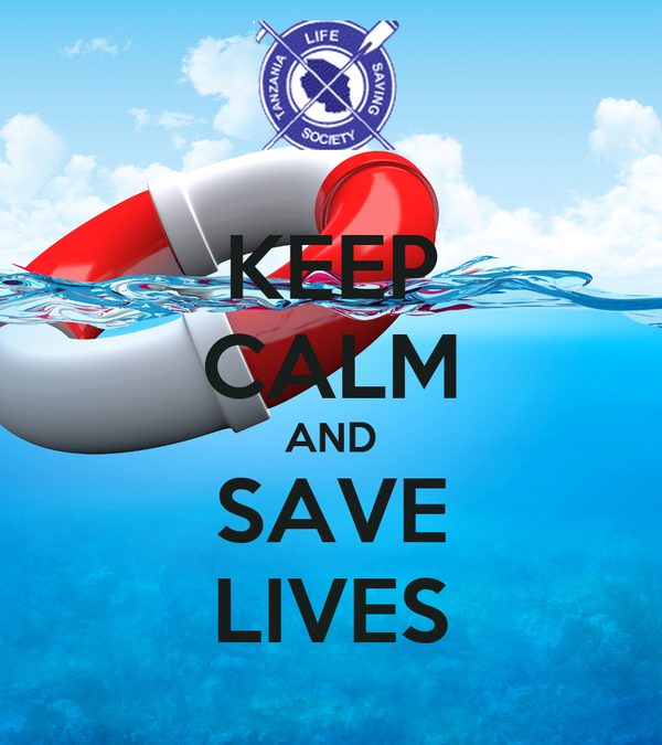 KEEP CALM AND SAVE LIVES
