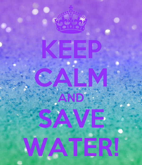 Design A Poster To Save Water