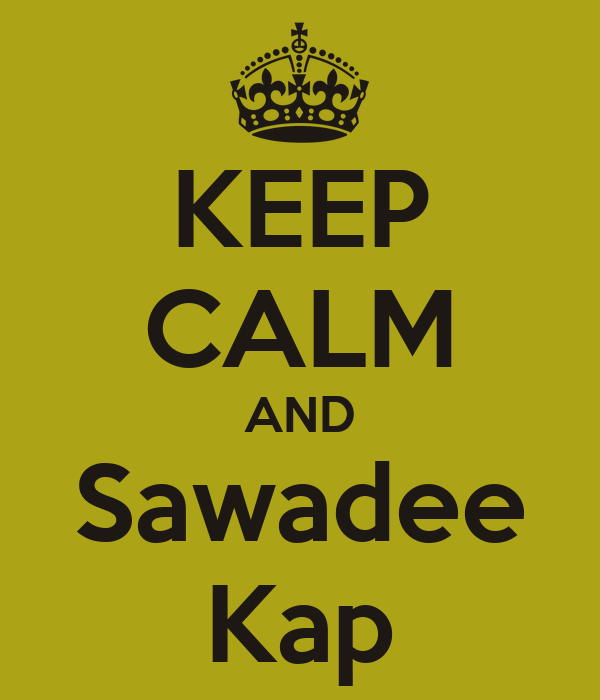 Image result for sawadee kap