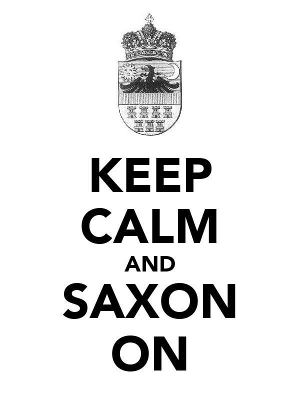 KEEP CALM AND SAXON ON