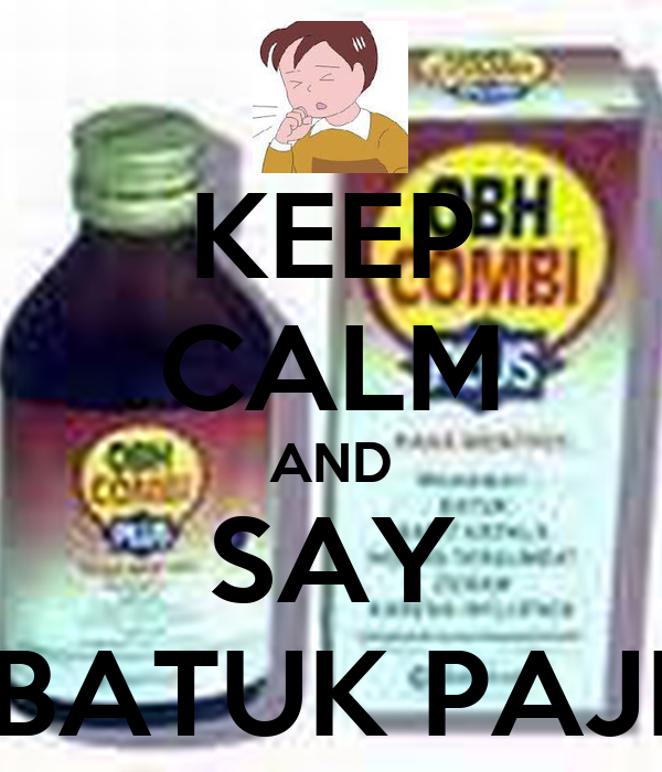KEEP CALM AND SAY BATUK PAJI