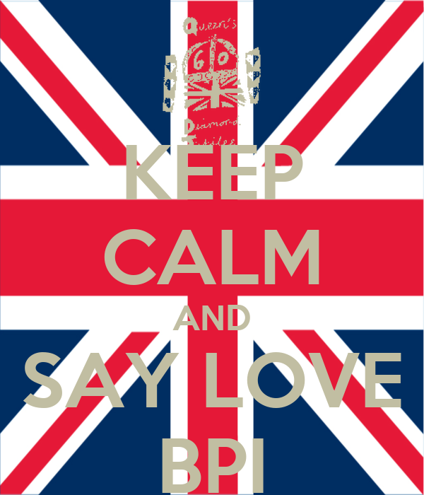KEEP CALM AND SAY LOVE BPI