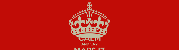 KEEP CALM AND SAY MARS IZ KADRA