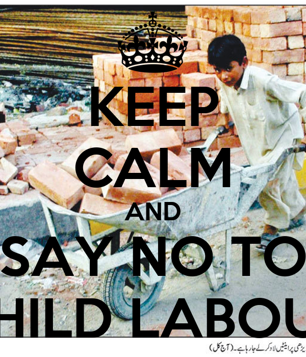 say no to child labour essay