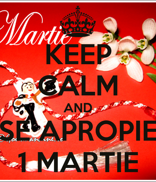 KEEP CALM AND SE APROPIE 1 MARTIE