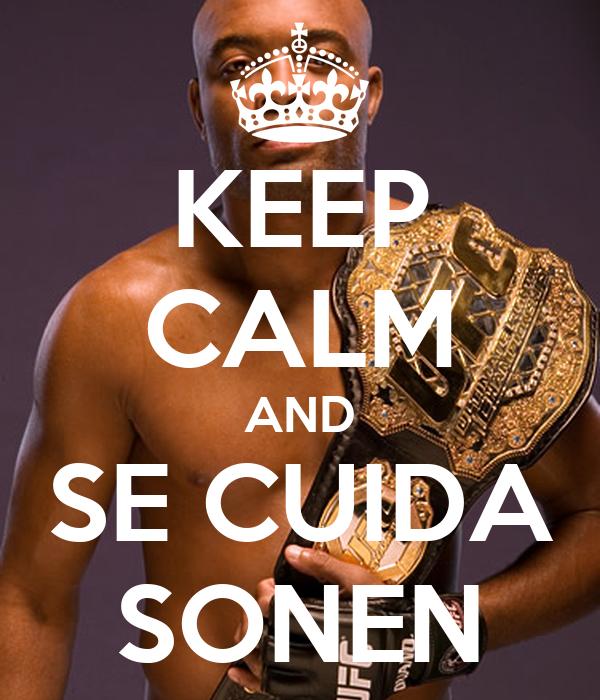 KEEP CALM AND SE CUIDA SONEN