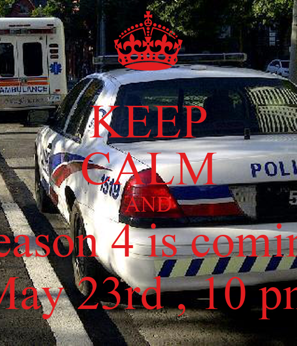 KEEP CALM AND Season 4 is coming May 23rd , 10 pm