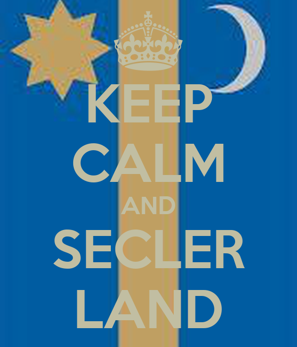 KEEP CALM AND SECLER LAND