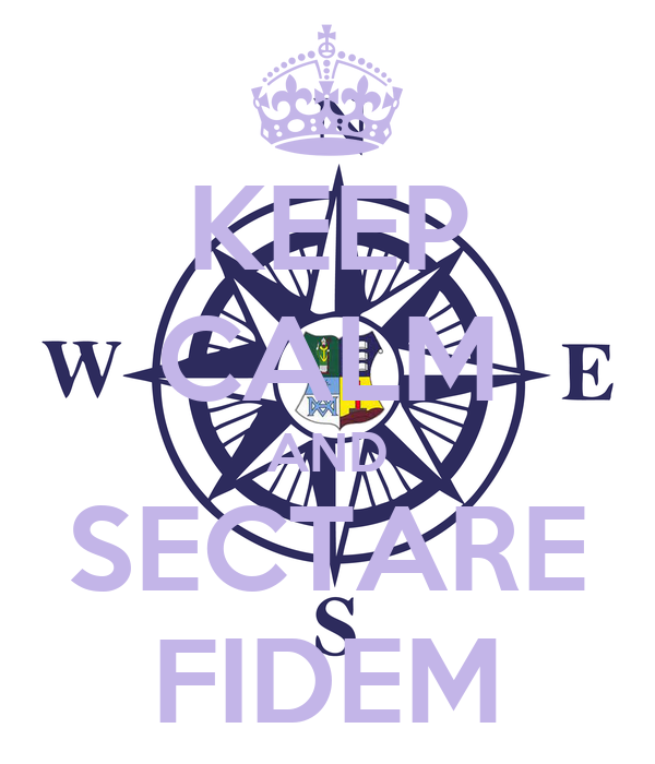KEEP CALM AND SECTARE FIDEM