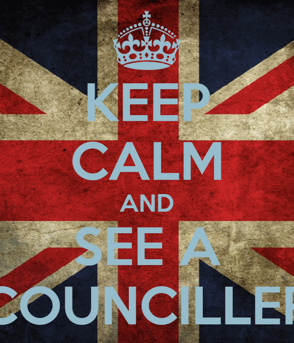 KEEP CALM AND SEE A COUNCILLER