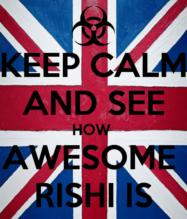KEEP CALM AND SEE HOW  AWESOME  RISHI IS