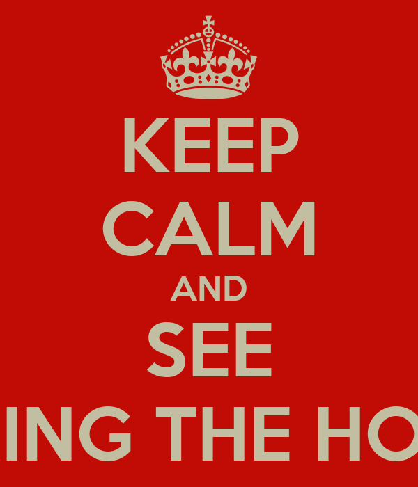 KEEP CALM AND SEE ME DURING THE HOLIDAYS