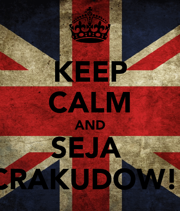 KEEP CALM AND SEJA  CRAKUDOW!!