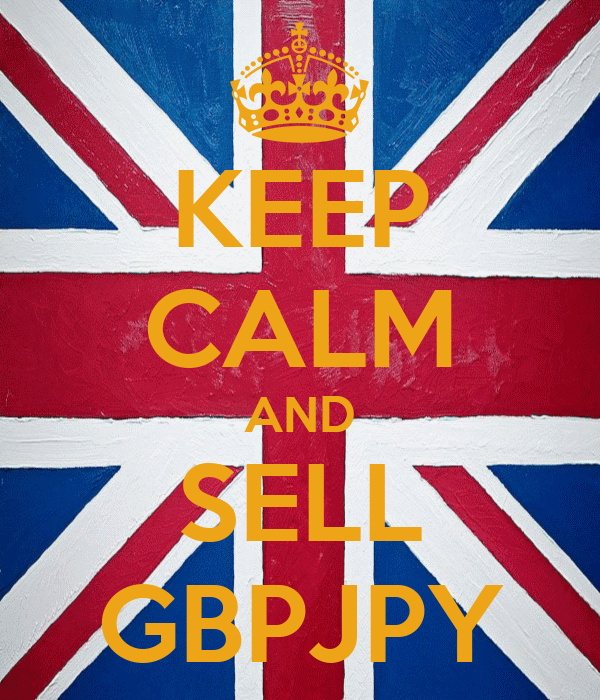 KEEP CALM AND SELL GBPJPY