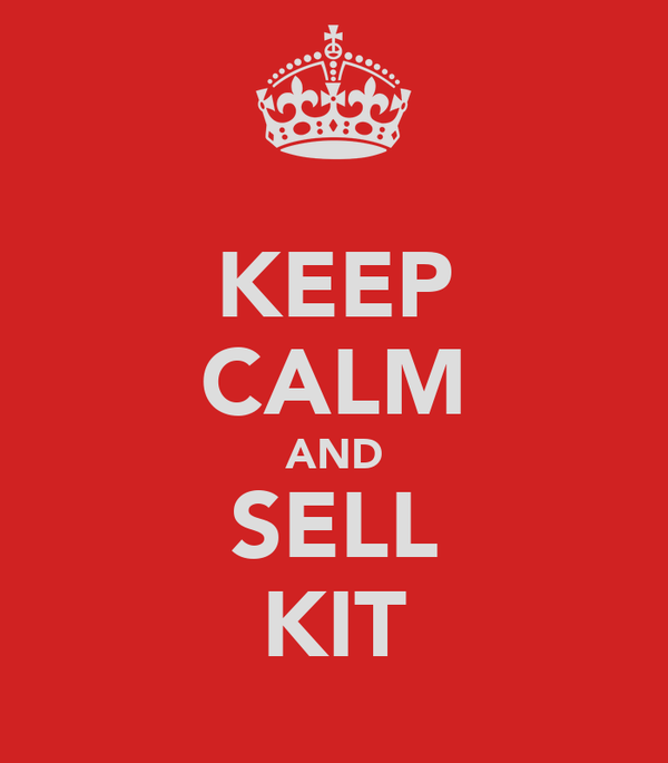KEEP CALM AND SELL KIT