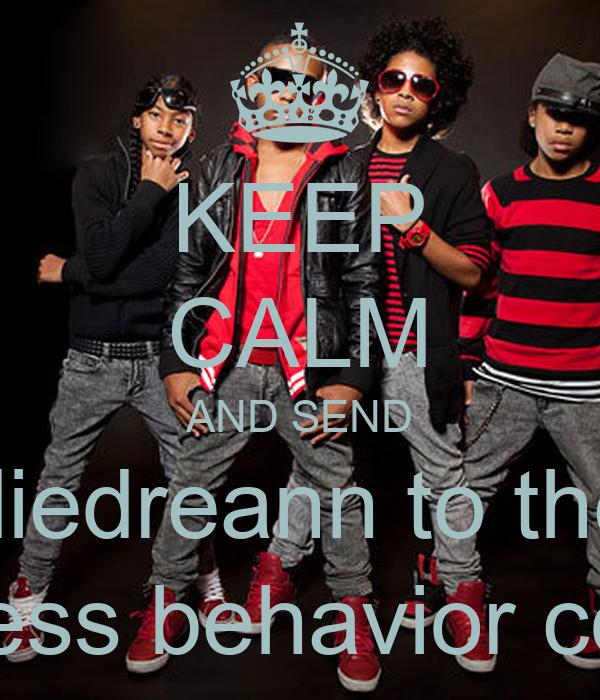 KEEP CALM AND SEND diedreann to the mindless behavior concert