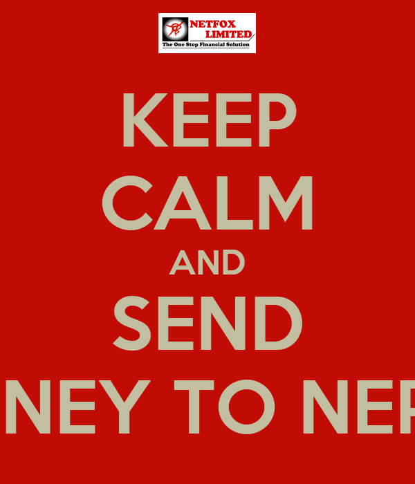 KEEP CALM AND SEND MONEY TO NEPAL