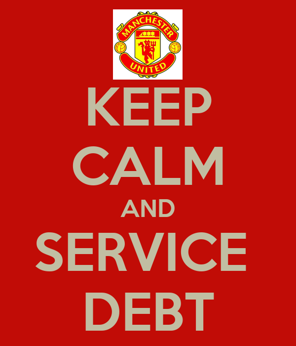 KEEP CALM AND SERVICE  DEBT
