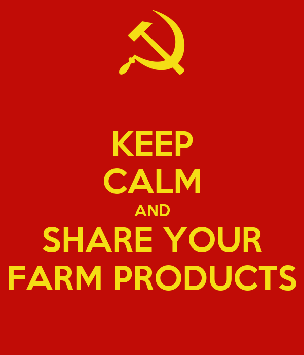 KEEP CALM AND SHARE YOUR FARM PRODUCTS