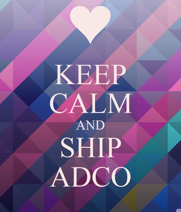 KEEP CALM AND SHIP ADCO