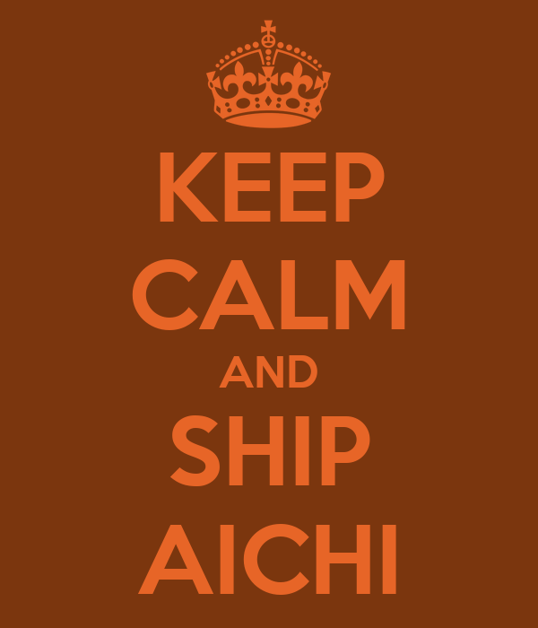 KEEP CALM AND SHIP AICHI