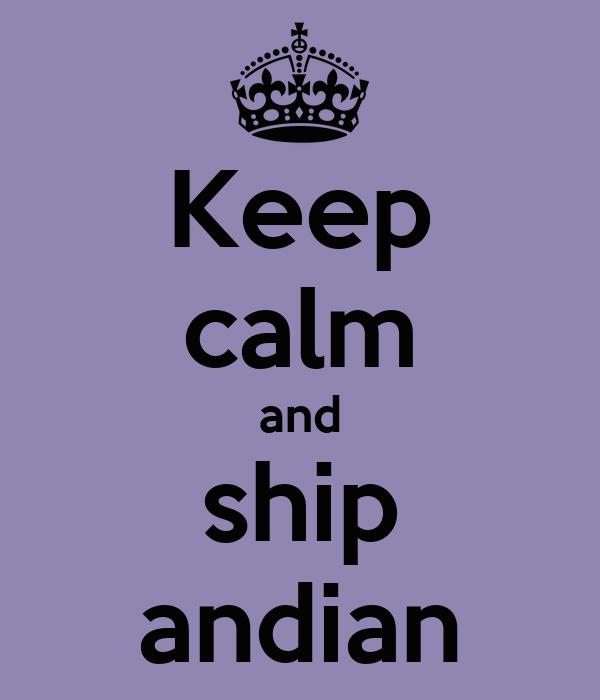 Keep calm and ship andian