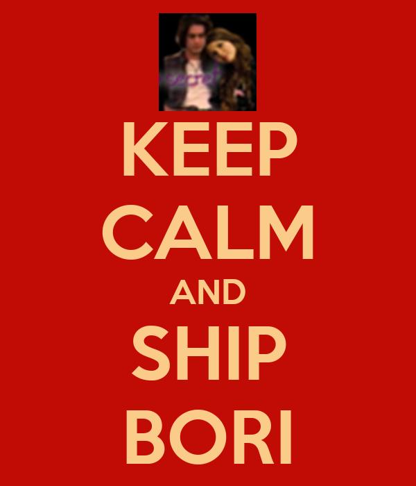 KEEP CALM AND SHIP BORI