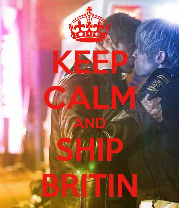 KEEP CALM AND SHIP BRITIN