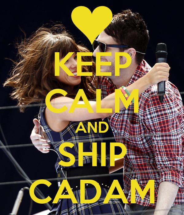 KEEP CALM AND SHIP CADAM