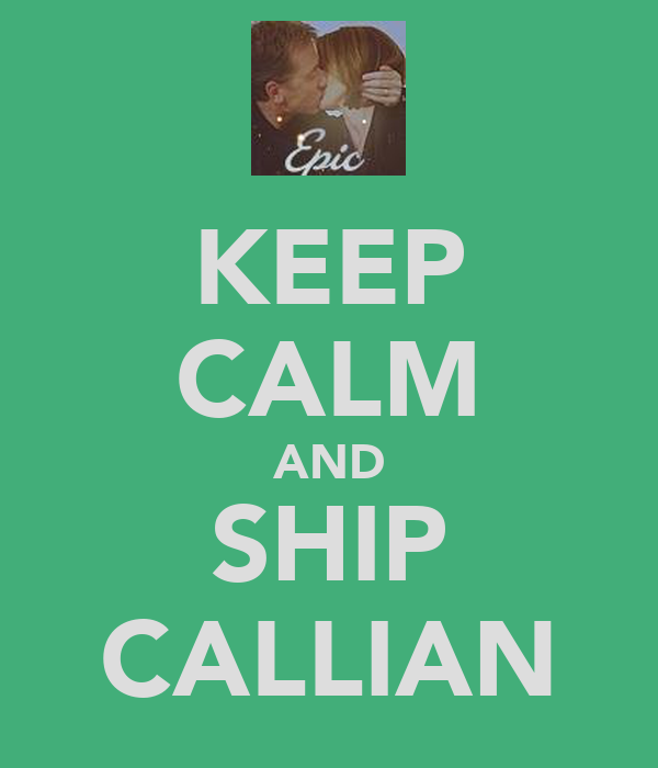 KEEP CALM AND SHIP CALLIAN