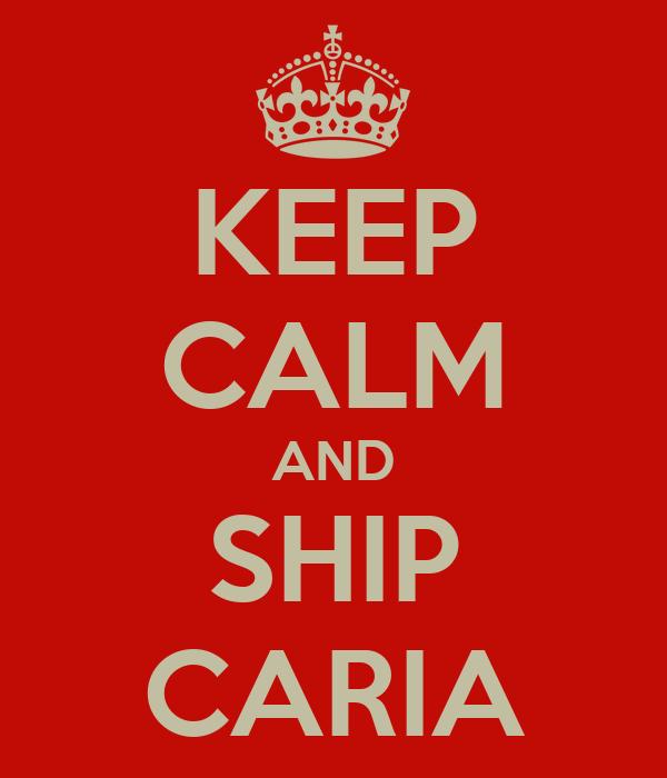 KEEP CALM AND SHIP CARIA