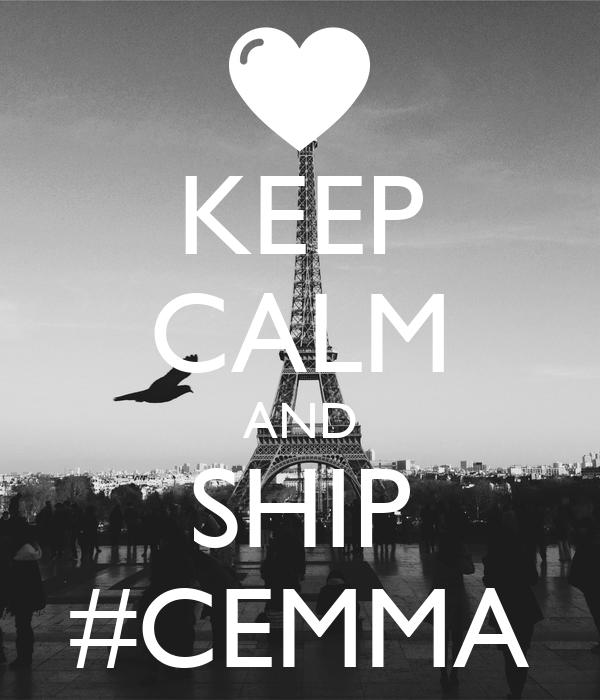 KEEP CALM AND SHIP #CEMMA