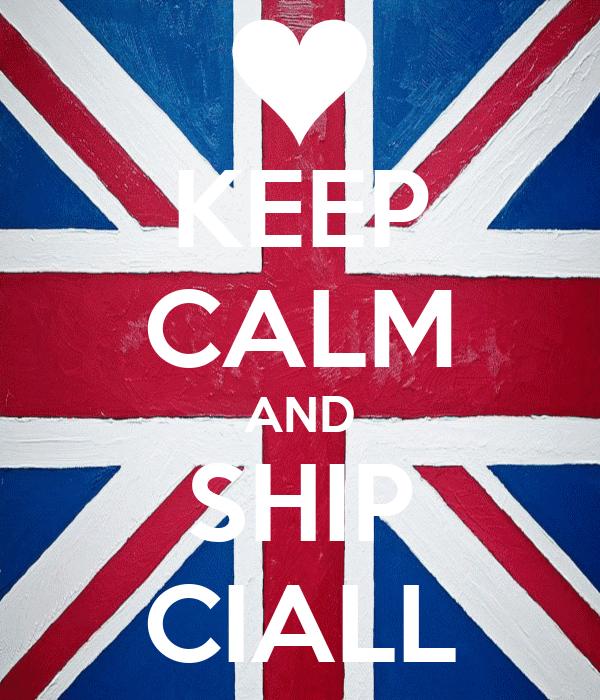 KEEP CALM AND SHIP CIALL