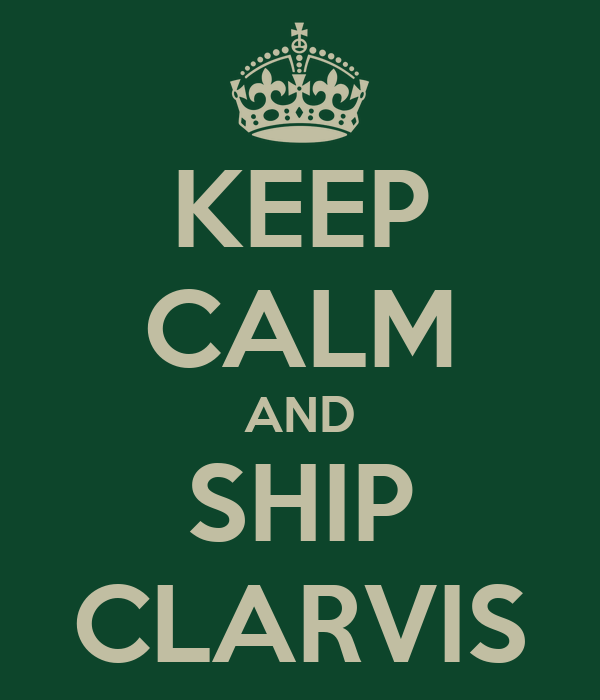 KEEP CALM AND SHIP CLARVIS