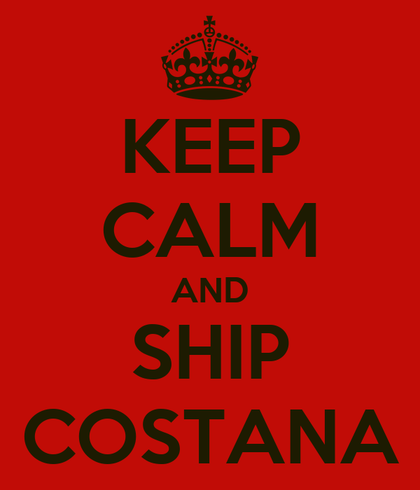 KEEP CALM AND SHIP COSTANA