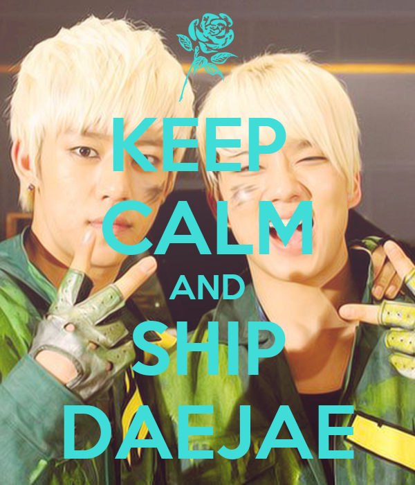 KEEP  CALM AND SHIP DAEJAE