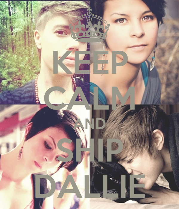KEEP CALM AND SHIP DALLIE
