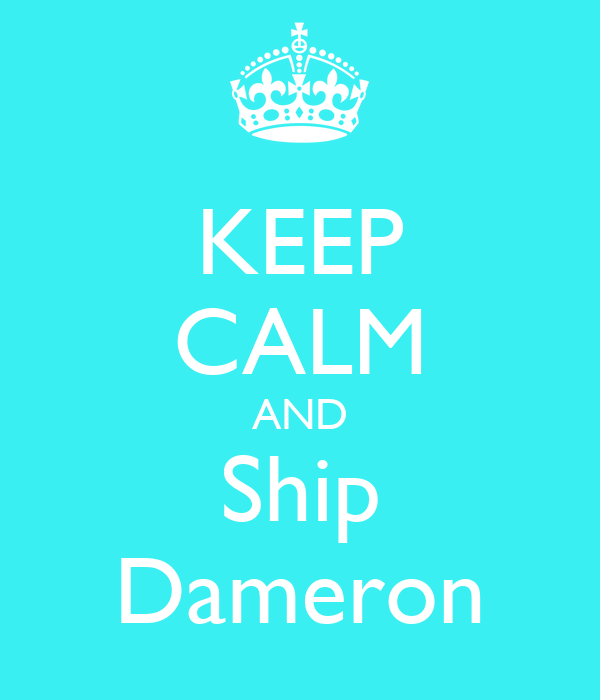 KEEP CALM AND Ship Dameron