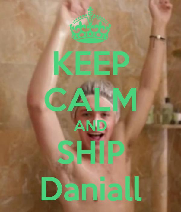 KEEP CALM AND SHIP Daniall